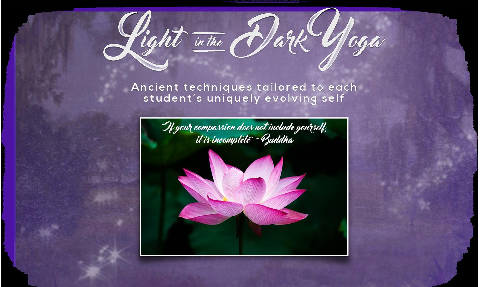 Light In The Dark Yoga Beaufort SC